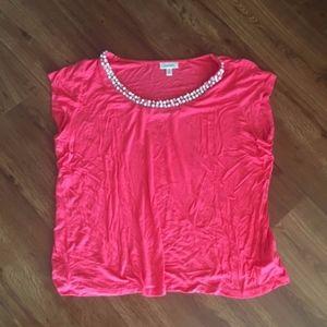 coral dress barn shirt